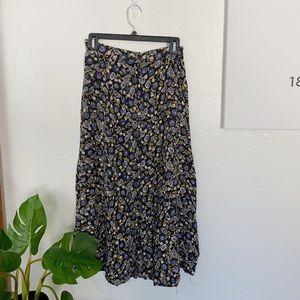 Simply Fashion floral midi skirt